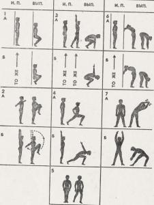 Комплекс общеразвивающих упражнений для начинающих